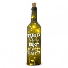 Wine light - Our family rules