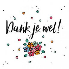 Wenskaart Thanks a million! Joy