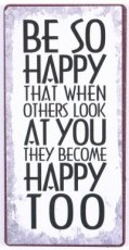 Magneet: Be so happy that when others... EM6291