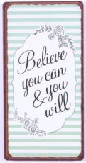 Magneet: Believe you can & you will. EM5645