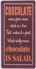Magneet: Chocolate comes from cocoa... EM5774