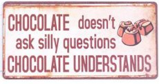 Magneet: Chocolate doesn't ask.... EM5386