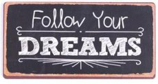 Magneet: Follow your dreams. EM5484