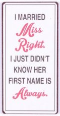 Magneet: I married miss right. I just... EM5875