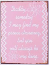 Tekstbord: daddy, someday I may find my... EM5619