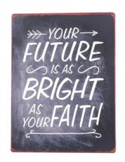 Tekstbord 352 Tekstbord: Your future is as bright as... EM5575